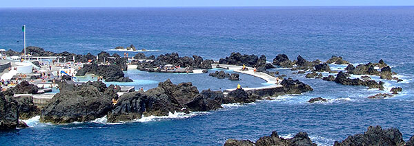 Porto Moniz natural pools, Madeira