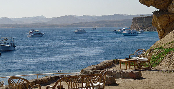 Beach in Sharm el Sheik