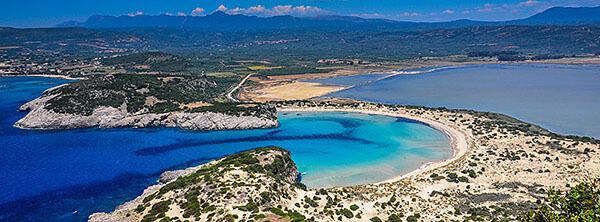 Voidokilia Beach, Greece