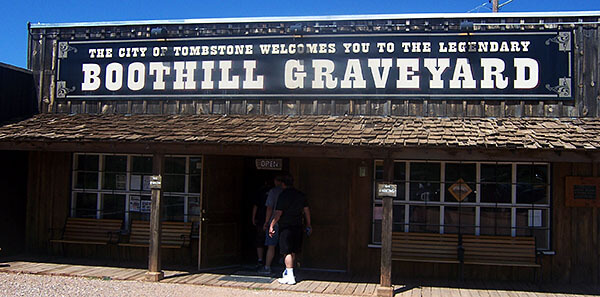 Entrance to the Boothill Graveyard
