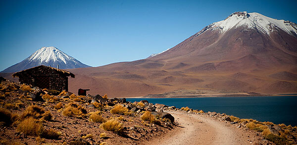 Lake in the Chilean Altiplano