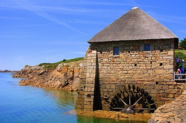 Mill in Brittany, France