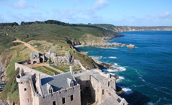 The Fort La Latte on the Brittany Coast