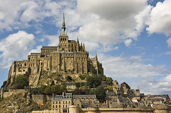 Mont Saint-Michel in Brittany, France