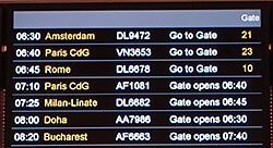6:30 AM departure