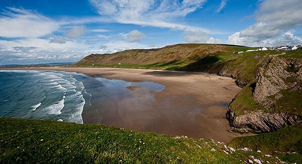 Rhossili Bay in Wales