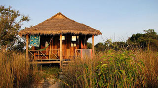 Koh Rong beach hut
