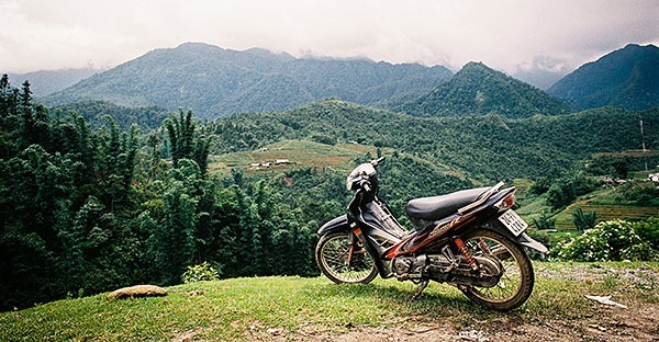 Overlooking Sapa in Vietname