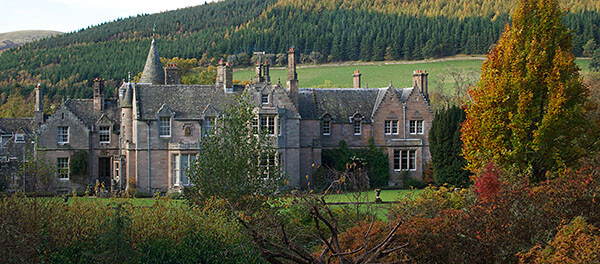 Dawyck House in Scotland