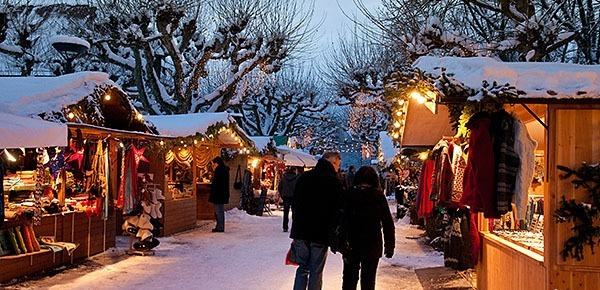 Christmas market in Konstanz, Germany