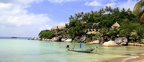 The Thai island of Koh Tao
