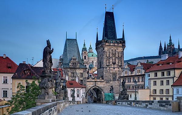 St Charle's Bridge in Prague