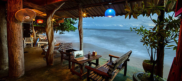 Beach bar in Thailand