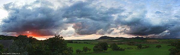 Beautiful landscape in Wales