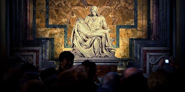 Pieta, Vatican Museums