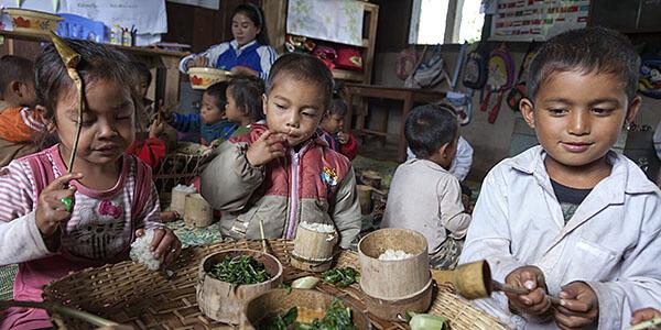 Volunteer work in Asia