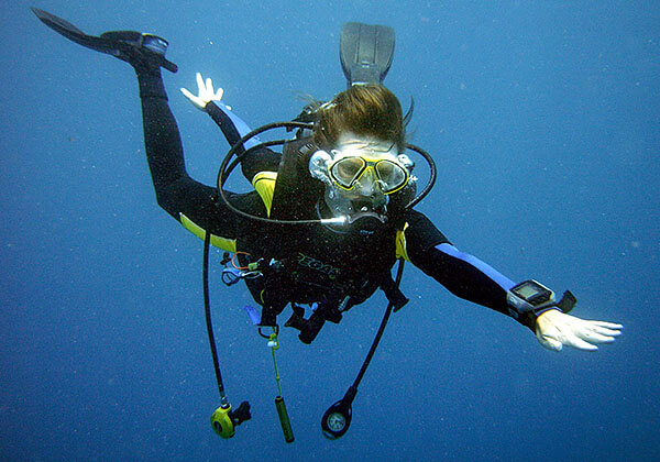 Scuba diving in Asian waters