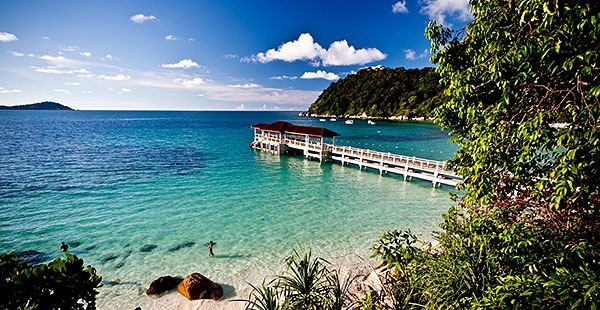 The beautiful Perhentian Islands