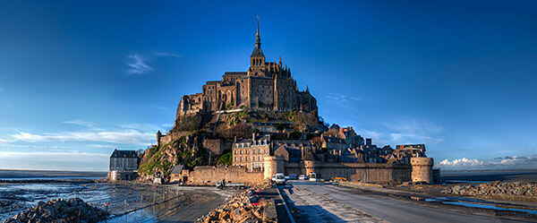 Mont Saint-Michel in Northern France