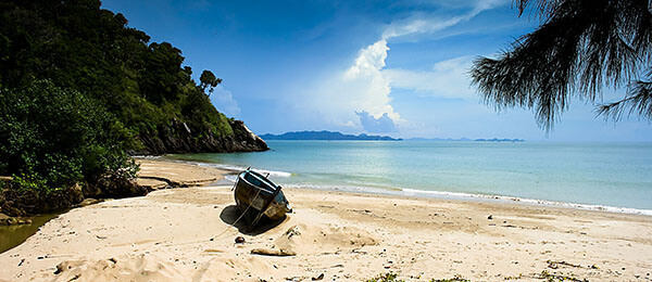 Koh Lanta beach in Thailand
