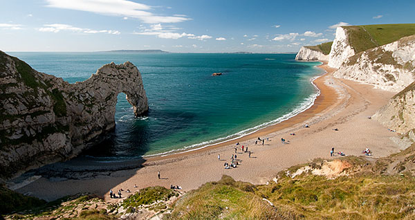 The Durdle Door in Dorset