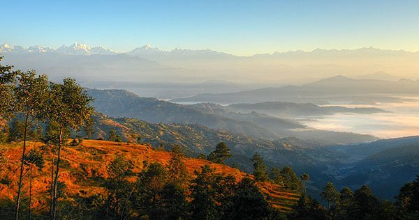 The amazing Nepal landscape