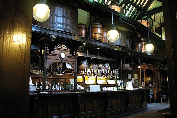 The Cittie of Yorke pub in Holborn, London