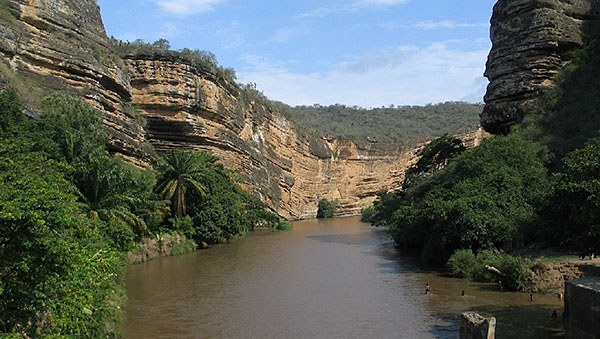 River in Angola, Africa