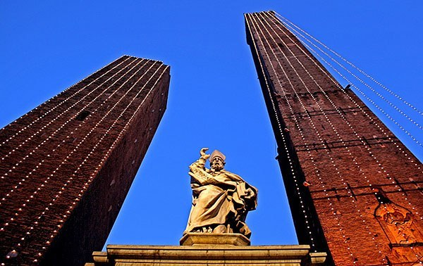 Bologna's twin towers