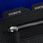 Interior detail of Kiki James travel wallet