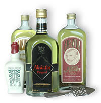 Absinthe is an unusual drink