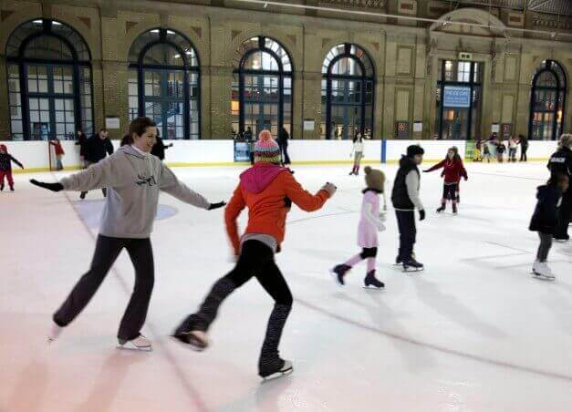 The Alexandra Palace Ice Rink
