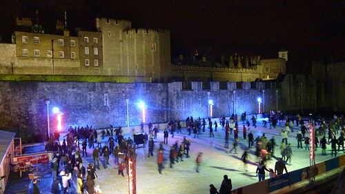 The Somerset House Ice Rink