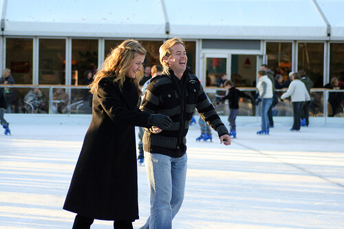 Royal Windsor ice skaters