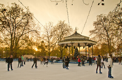 The Winter Wonderland Ice Rink