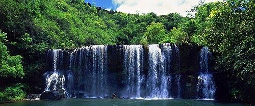 Visit the Secluded Falls on Kauai, Hawaii
