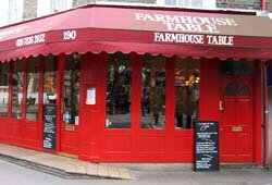 The Farmhouse Table, Covent Garden, London