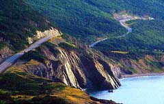 Cabot Trail in Canada