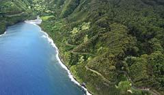 Hana Highway in Hawaii