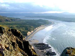 The Inishowen Peninsula scenic drive in Ireland