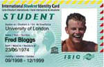 The ISIC card