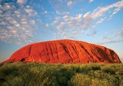 Uluru in the Australian Outback