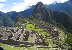 Machu Piccu from the Inca Trail