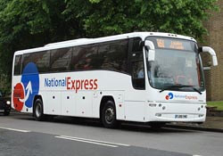 National Express bus in England