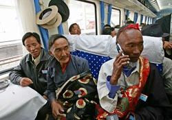 Chinese train travel