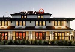 A budget hotel