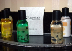 Hotel toiletries
