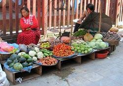 Durbar Square market in Kathmandu