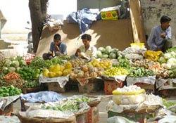 Sarojini Nagar market in Delhi