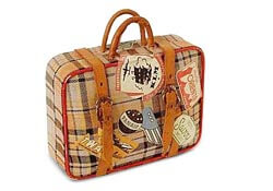 A small suitcase